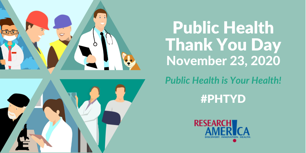 Get Involved In Public Health Thank You Day Research America