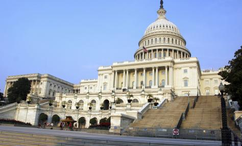 This is a picture of the U.S. Capitol building